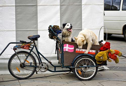 Freetown Christiania, Copenhagen, Denmark's Cargo Bike