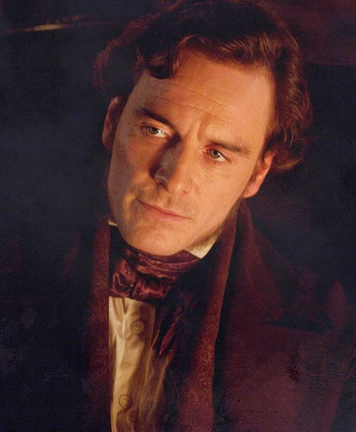 """""""The soul, fortunately, has an interpreter - often an unconscious but still a faithful interpreter - in the eye.""""   ― Charlotte Brontë, Jane Eyre. Michael Fassbender as Mr. Rochester in JANE EYRE (2011)."""