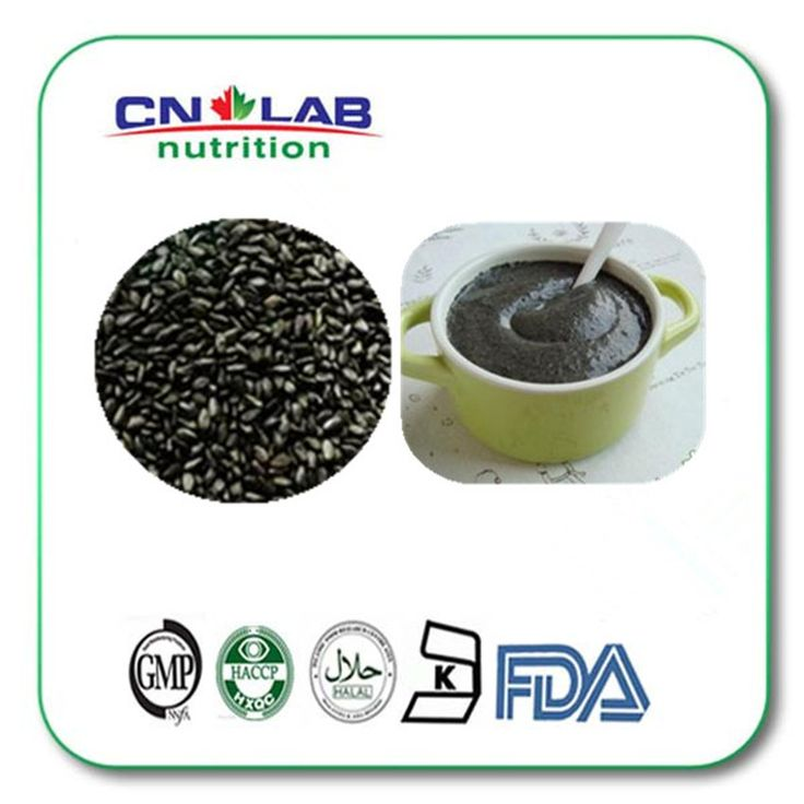 Find More Slimming Creams Information about 100g INSTANT BLACK SESAME POWDER,High Quality sesame machine,China powder coated iron fence Suppliers, Cheap sesame street baby clothes from Cnlab Pharma Ltd on Aliexpress.com