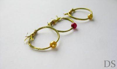 złote pierścionki z kulkami gold rings