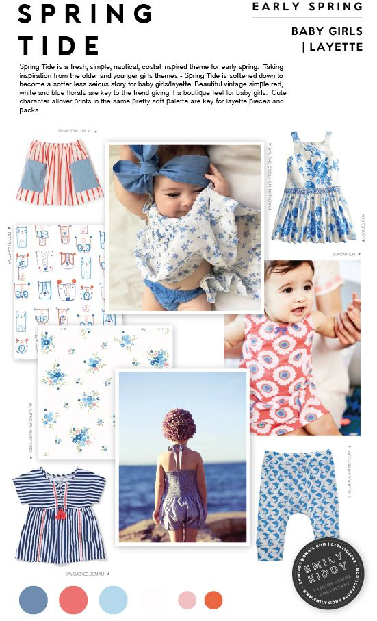 Spring | Summer 2017 - Spring Tide - Baby Girls | Layette