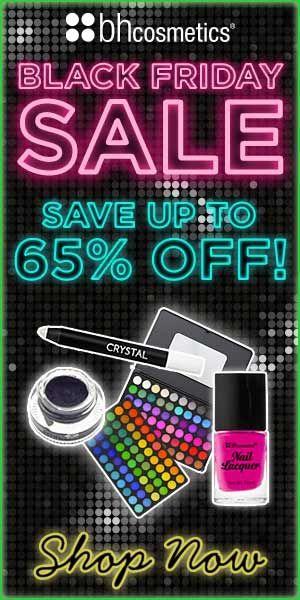 BH Cosmetics Black Friday discount
