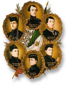 Hace muchos años Estados Unidos invadió México.   Cuando el ejército llegó al Castillo de Chapultepec, el 13 de septiembre de 1847, los niño...
