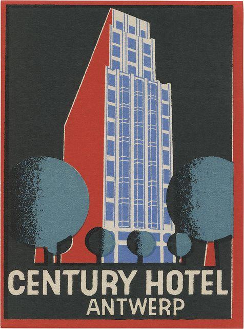 Century Hotel, Antwerp (99mm × 74mm)   Flickr - Photo Sharing!