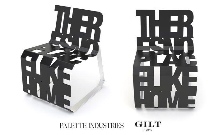 Tom Delavan Dharma Two Chair by Palette Industries