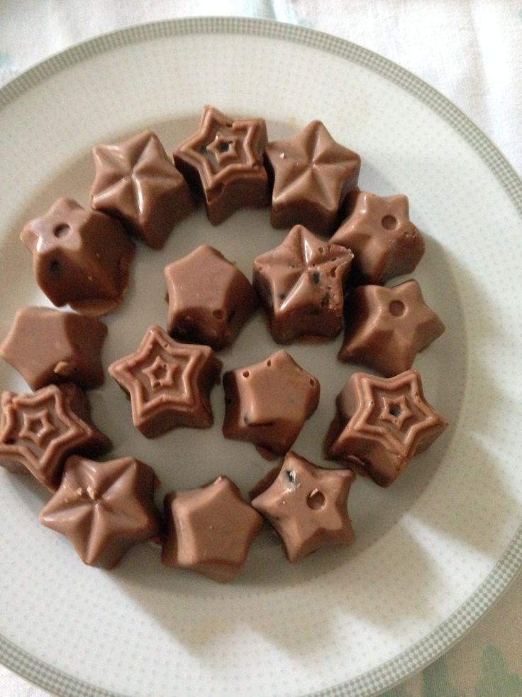 Cioccolatini ripieni di caramello