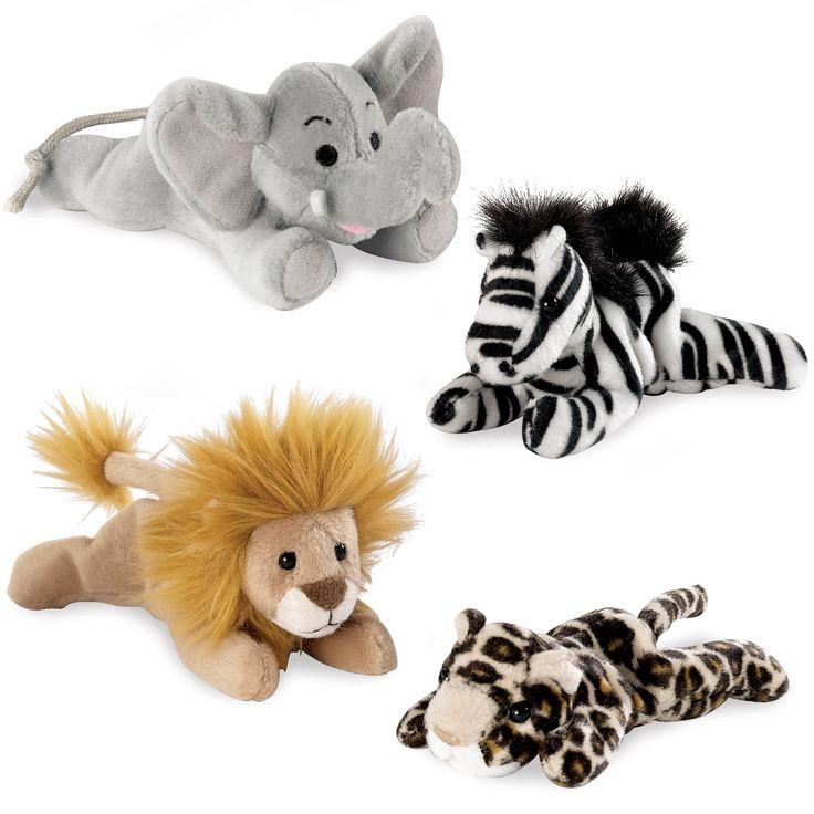 Safari Animal Bean Bag Set | BirthdayExpress.com
