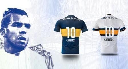 La Tevezmanía dispara la venta de camisetas de Boca - La Jugada Financiera - La Jugada Financiera
