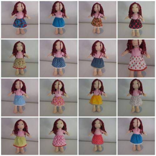 MIX-amp-MATCH-bambole-VESTITI-GONNA-Div-motivi-per-30cm-HABA-sostanza-Bambole-Nuovo