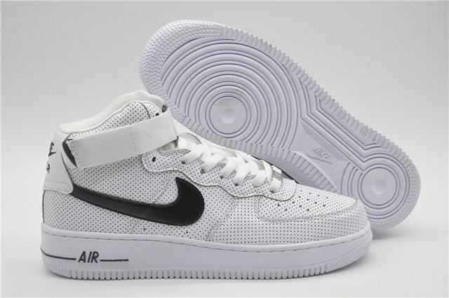 f167342fca5 chaussures air force pas cher air force 1 mid blanche Air Force 1 Mid