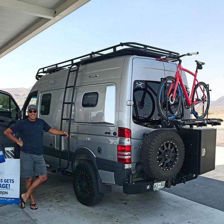 Cargo Van Bike Storage