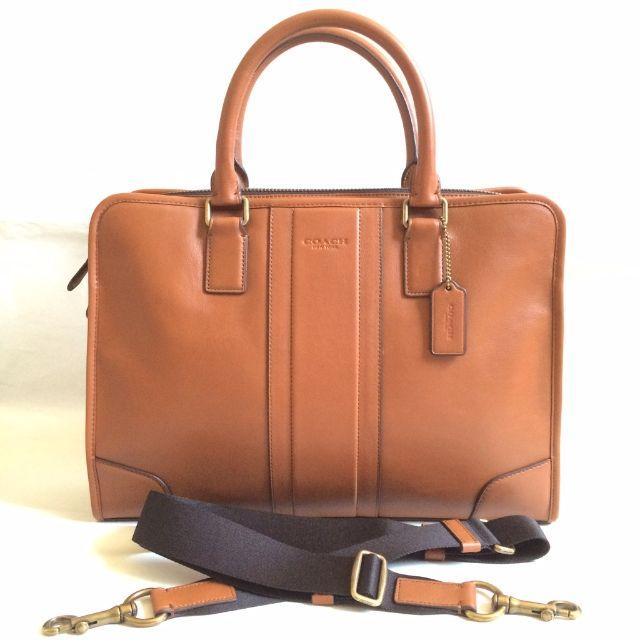 Breez - NWT Coach Brown Leather Directors Briefcase