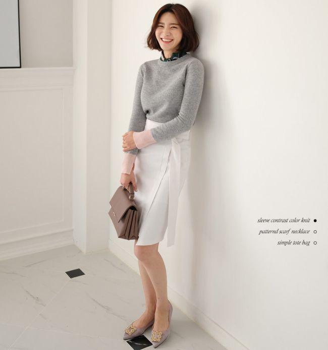 Chỉ là chân váy ôm đơn giản cũng có nhiều biến tấu tôn dáng khiến chị em công sở mê mẩn - Ảnh 4.