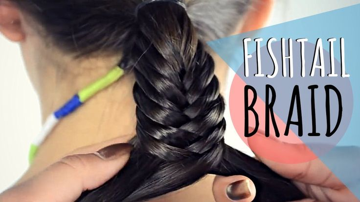 Fishtail braid / Trenza espina de pescado