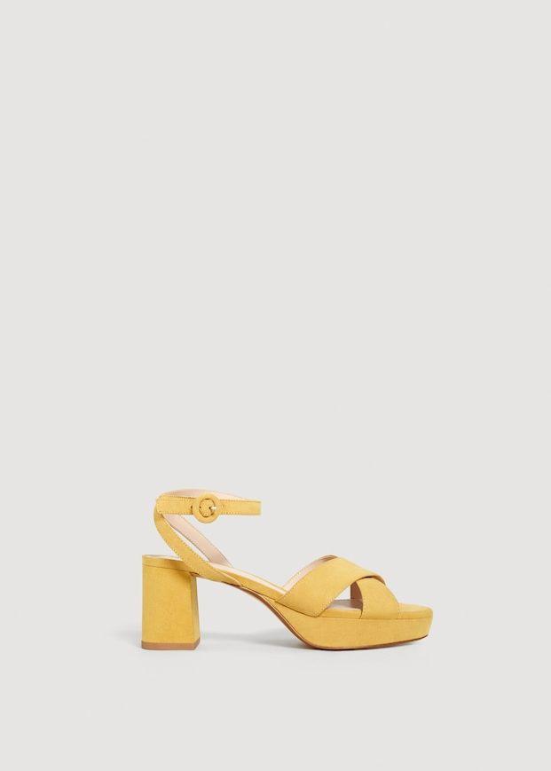 23a71d74f62 Crossover platform sandals - Women