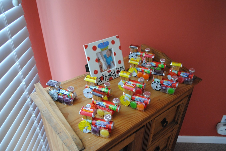Candy Train Party Favors Birthday Parties Pinterest
