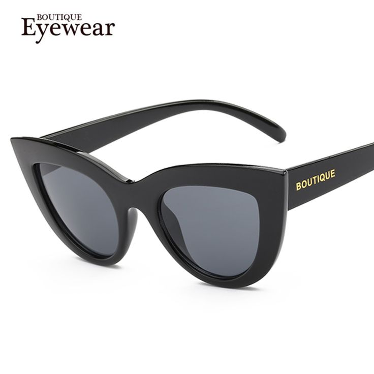 BOUTIQUE New Women Star style Brand Cat Eye Sunglasses points men Vintage Round Coating gafas so real oculos de sol