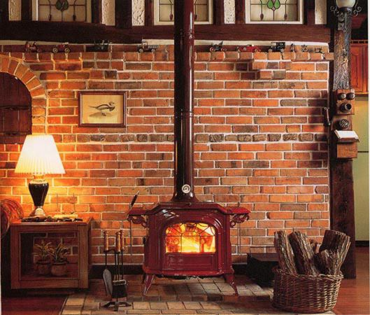 Wood Stove Fire Bricks 4 9 : Vermont castings acclaim free standing wood stove