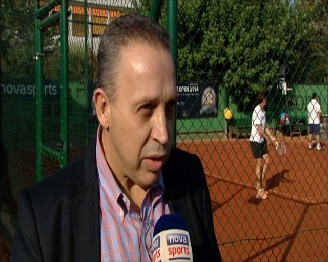 business tennis open - papalios