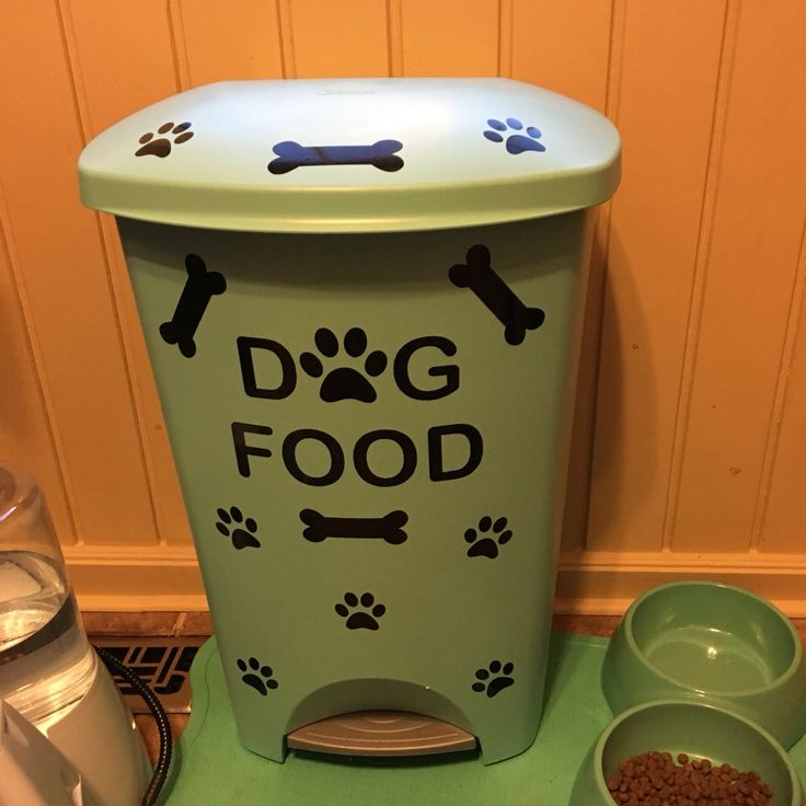 I made myself an awesome dog food container! #dogfood #container - Best 25+ Dog Food Containers Ideas On Pinterest Dog Food Storage