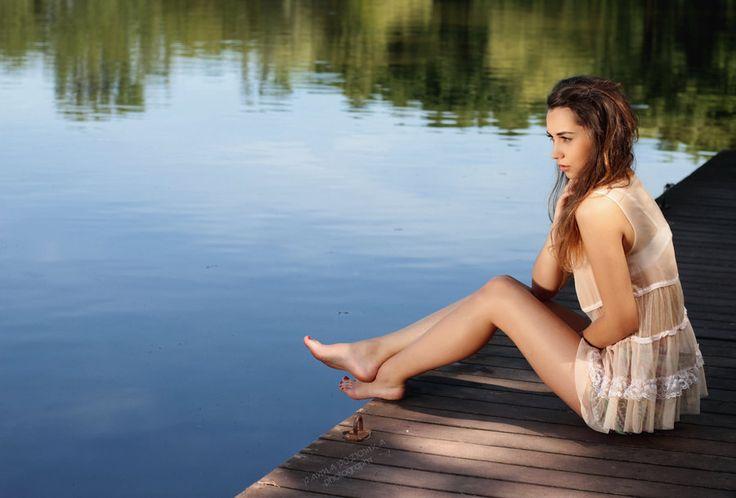 one sunny day in June by panna-poziomka.deviantart.com on @deviantart #photography #summer #fashion #people #polishgirl #PANNAPOZIOMKAphotography #lake