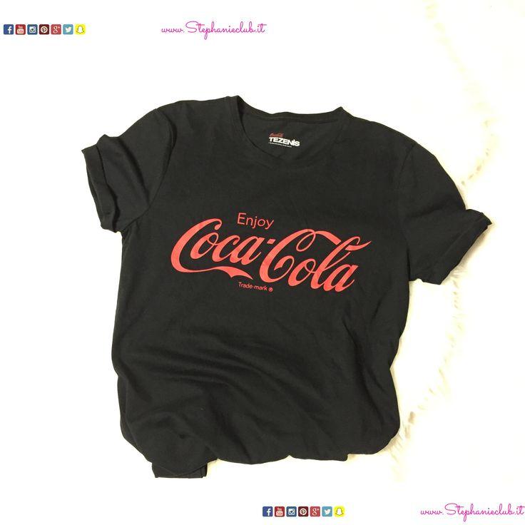 Maglia con manica corta Coca-Cola #Tezenis