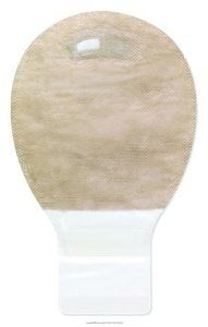 """(BX) Premier Mini Drainable Pouch, Softflex Barrier, Beige, Pre-Sized Series: 887xx by Hollister. $118.48. Product is sold on this unit of measure - BX. Pre-Cut~1 3/16"""" (30 mm)^. Product Benefits: Superior skin care is provided by the SoftFlex skin barrier, formulated for gentleness and flexibility, yet attaches firmly to skin. Peace of mind knowing that you are wearing the most discreet pouch with a highly effective deodorizing/venting filter. Highest level of discreetness and ..."""