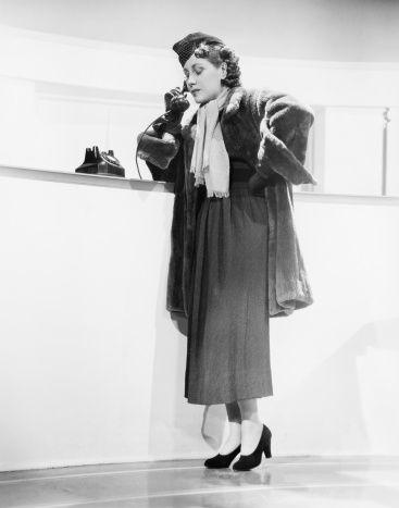 1940s' Fashion workin Woman