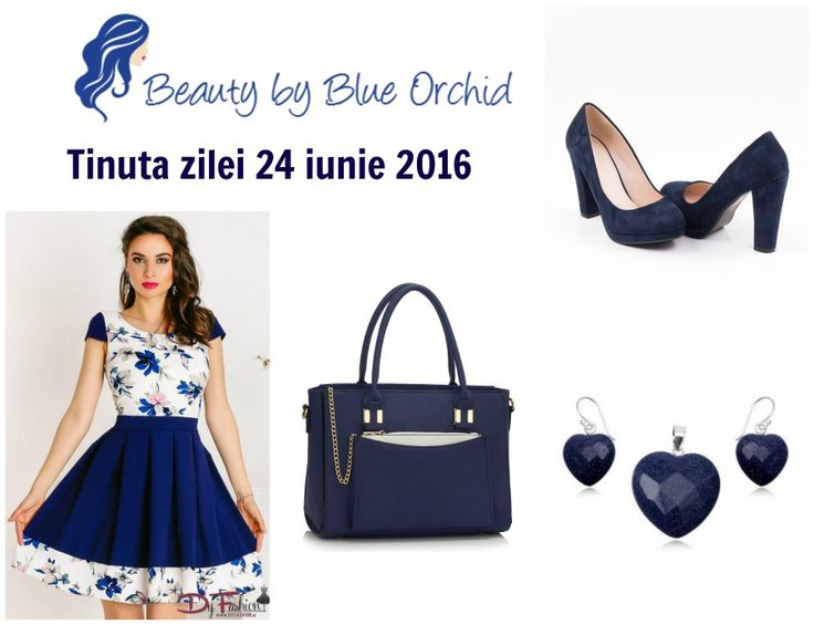 Tinuta zilei - 24 iunie 2016 - Beauty by Blue Orchid