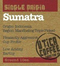 Sumatra Mandheling - Utica Coffee Roasting Co.