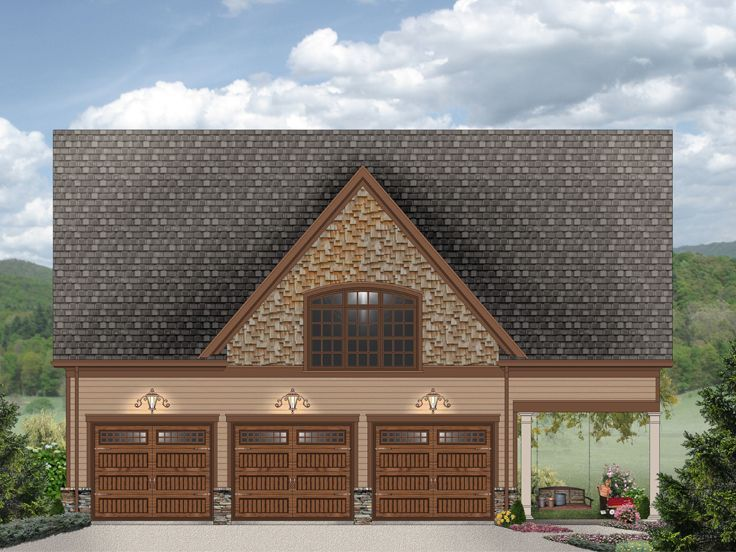 69 best carriage house plans images on pinterest garage for Carriage garage plans