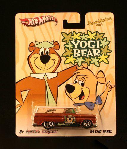'64 GMC PANEL * YOGI BEAR * Hanna-Barbera Presents Hot Wheels 2011 Nostalgia Series 1:64 Scale Die-Cast Vehicle by Mattel, http://www.amazon.com/dp/B007I7SKQ4/ref=cm_sw_r_pi_dp_NcqLrb12M01H0