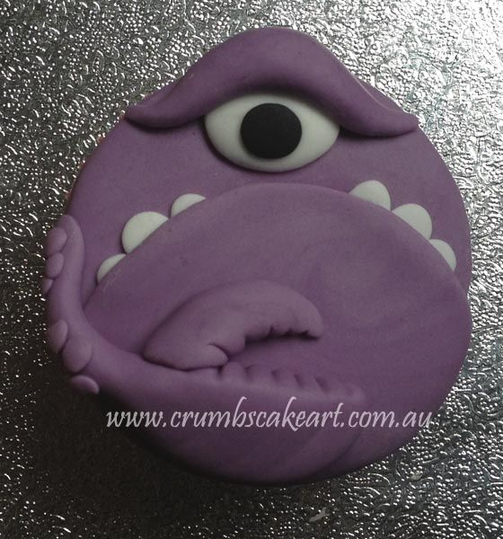 Monster cupcakes inspired by the new Disney Pixar movie Monster ...