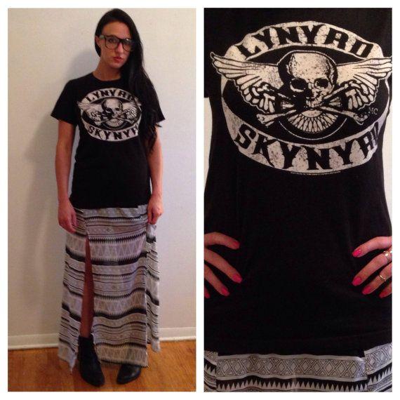 lynyrd skynyrd band tee vintage band t shirts band by NomadYouth, $40.00 #lynyrdskynyrd