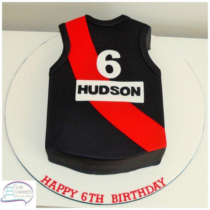 Essendon Guernsey cake