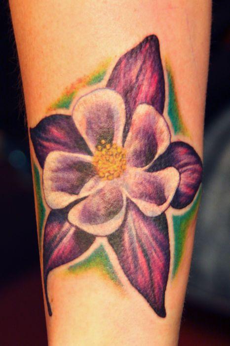 Inspiration - Colorado State Flower - Columbine