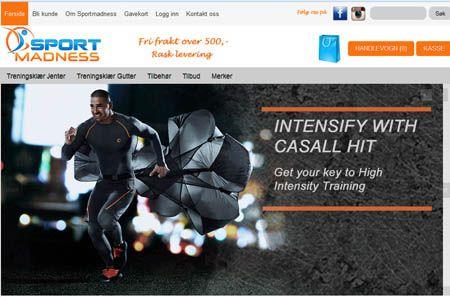 Sportmadness.no - Sport og treningsklær på nett. Kjøp dine klær til sportsaktiviteter her.