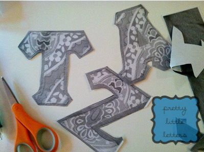 How To: Sew Your Own Greek Letter Shirt-A Step By Step Tutorial (Part I) | Pretty Little Letters