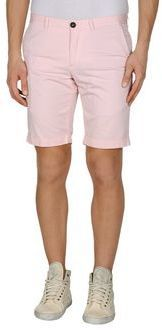 $54, Pink Shorts: Takeshy Kurosawa Bermudas. Sold by yoox.com. Click for more info: http://lookastic.com/men/shop_items/220160/redirect