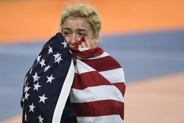 Helen Maroulis Beats A Legend To Win First U.S. Gold In Women's Wrestling
