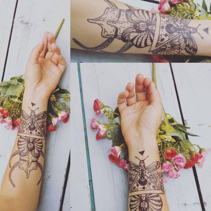 #blackink #blacktattoo #tattoosketch #deadmoth #inkorgy #tattoo #tattoosforwomen