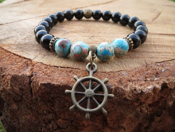 Check out this item in my Etsy shop https://www.etsy.com/listing/234476701/nautical-bracelet-mens-barcelet-men