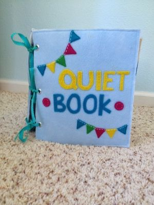 The Quiet Book Blog: Marci's Quiet Book