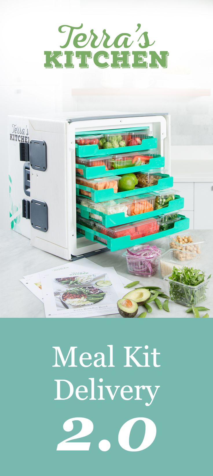 Take 50% off next generation meal-kit delivery