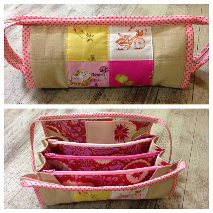 Multi zippered pouch - clever