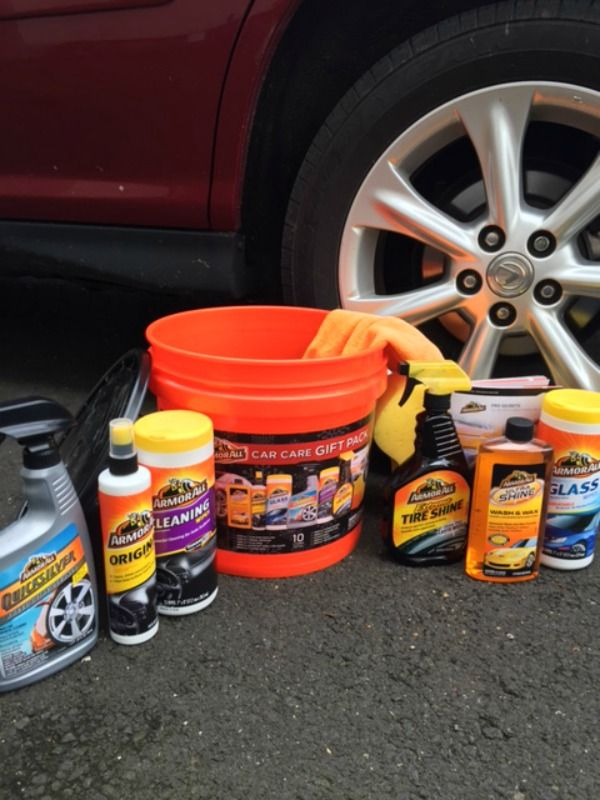 "Great gift for him. Everything you need for a ""wow"" clean car! @walmart #ArmorAllGiftPack #Pmedia #ad"