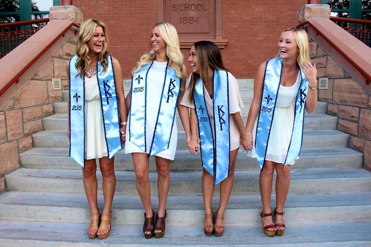 Sorority Graduation Pictures