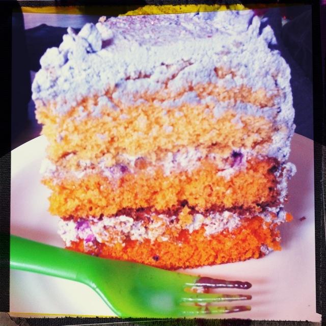 Mirtille cake