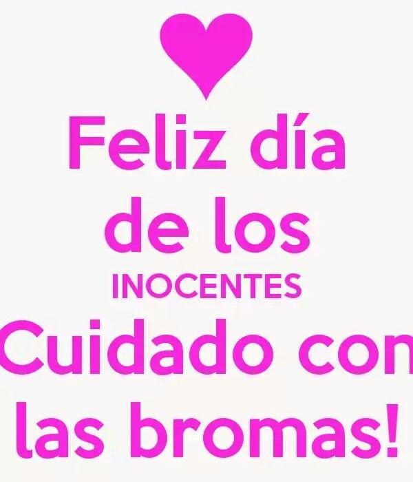 Feliz día de los inocentes!!!