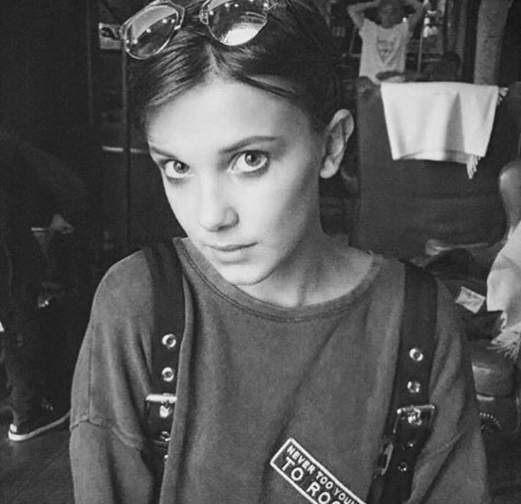 Millie Bobby Brown. this girl is a baby emma watson and i am all for it